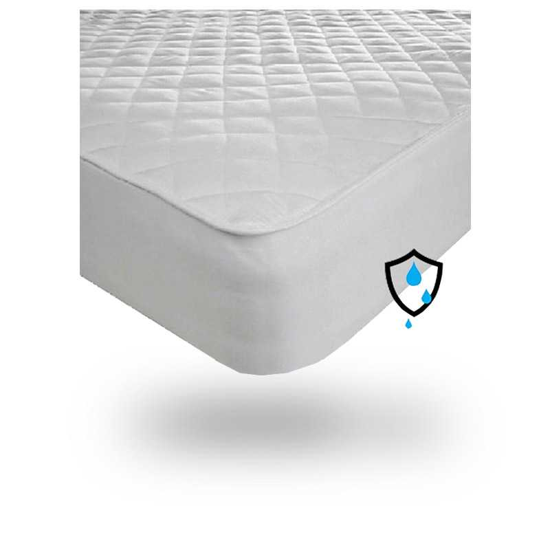 Quilted Waterproof Pillow Protector snugcitycouk