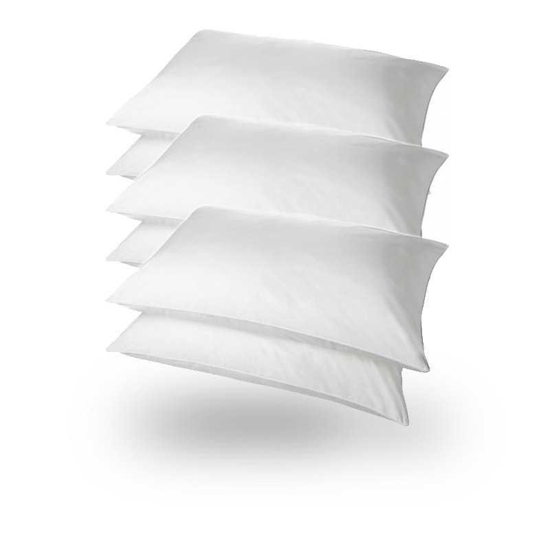 Superbounce Hollowfibre Packs Pillows Pack 6