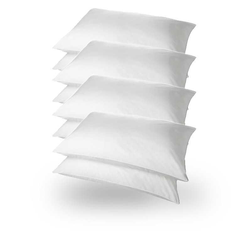 Superbounce Hollowfibre Packs Pillows Pack 8