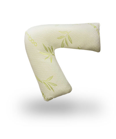 V Shape bamboo memory pregnancy pillow snugcity