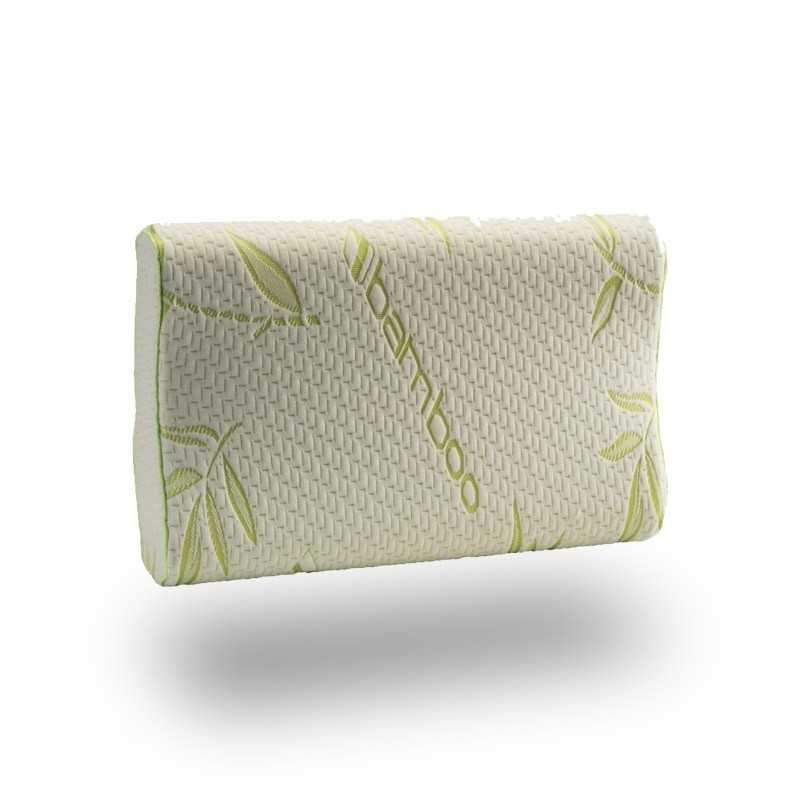 bamboo memory pillow snugcity