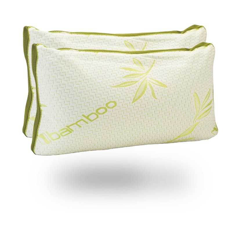 bamboo organic memory pillows pack snugcitycouk