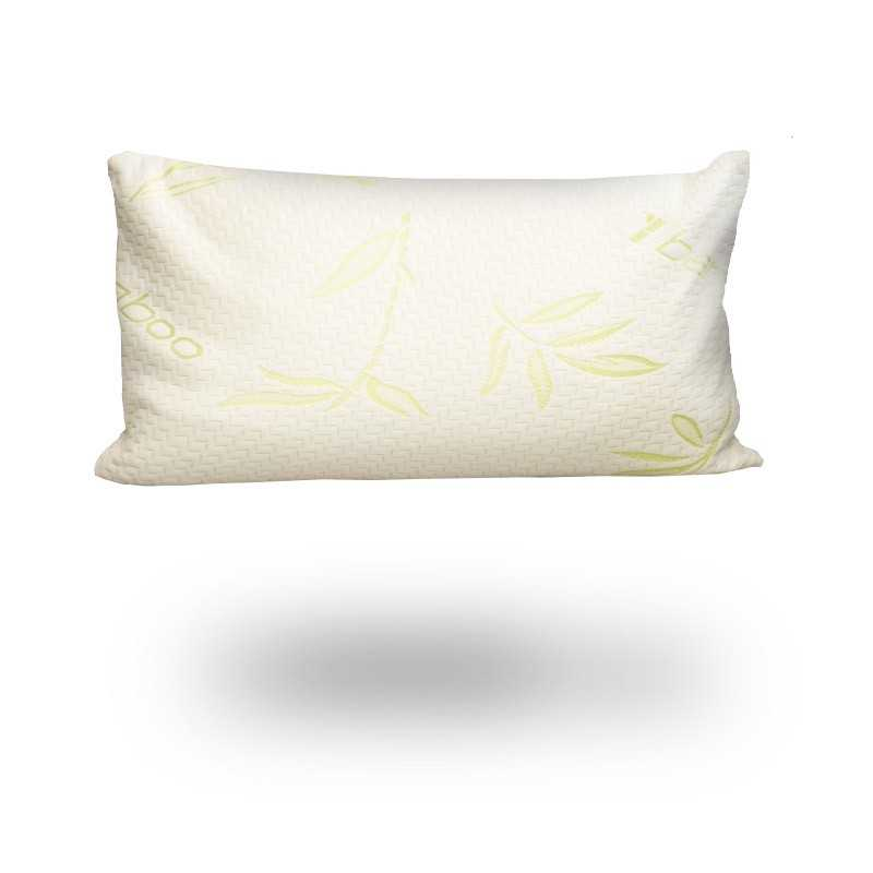 Bamboo Organic Memory Foam Pillow single snugcitycouk