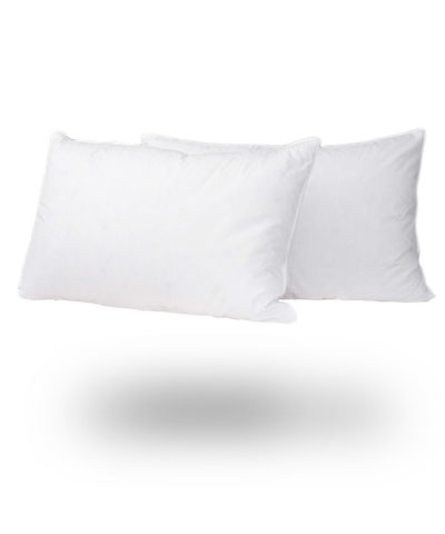Luxury Duck Feather And Down Pillow Pair snugcitycouk