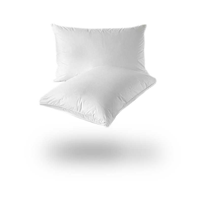 Luxury Goose Feather And Down Pillow Pair snugcitycouk