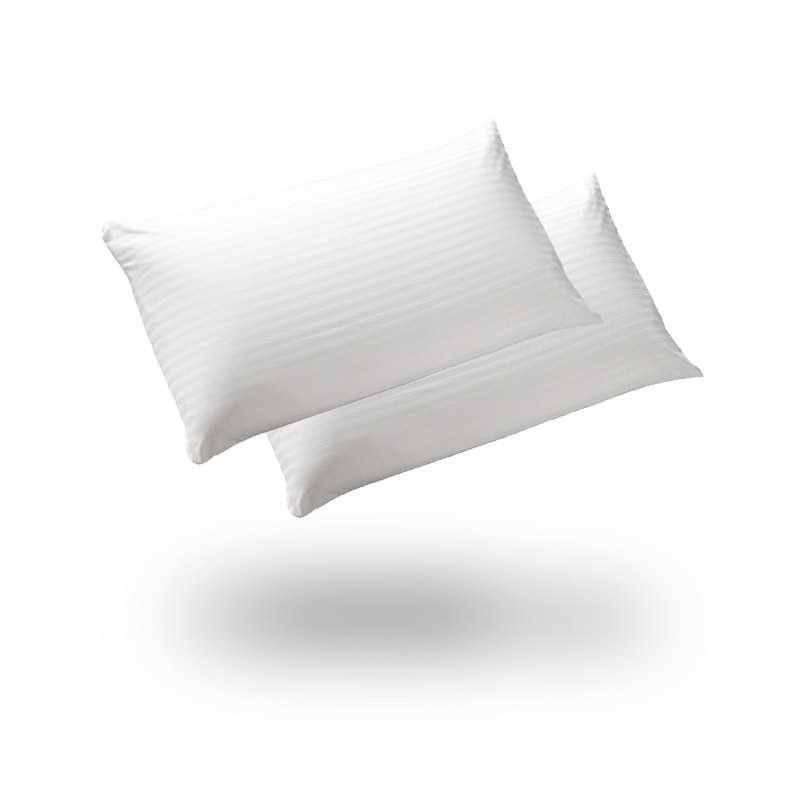 Satin Stripe Pillow Pair snugcitycouk