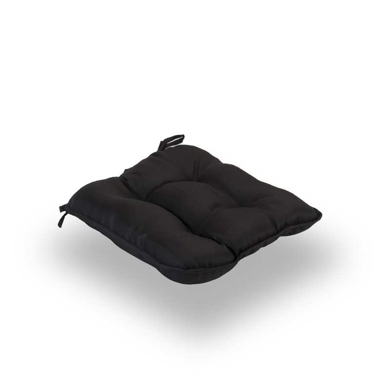 Snug Black Quilted Seat Pads Normal