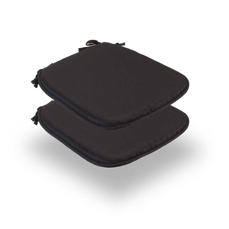 Snug Black Square Seat Pads Normal Pack