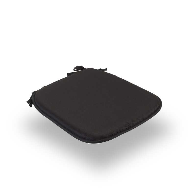 Snug Black Square Seat Pads Normal