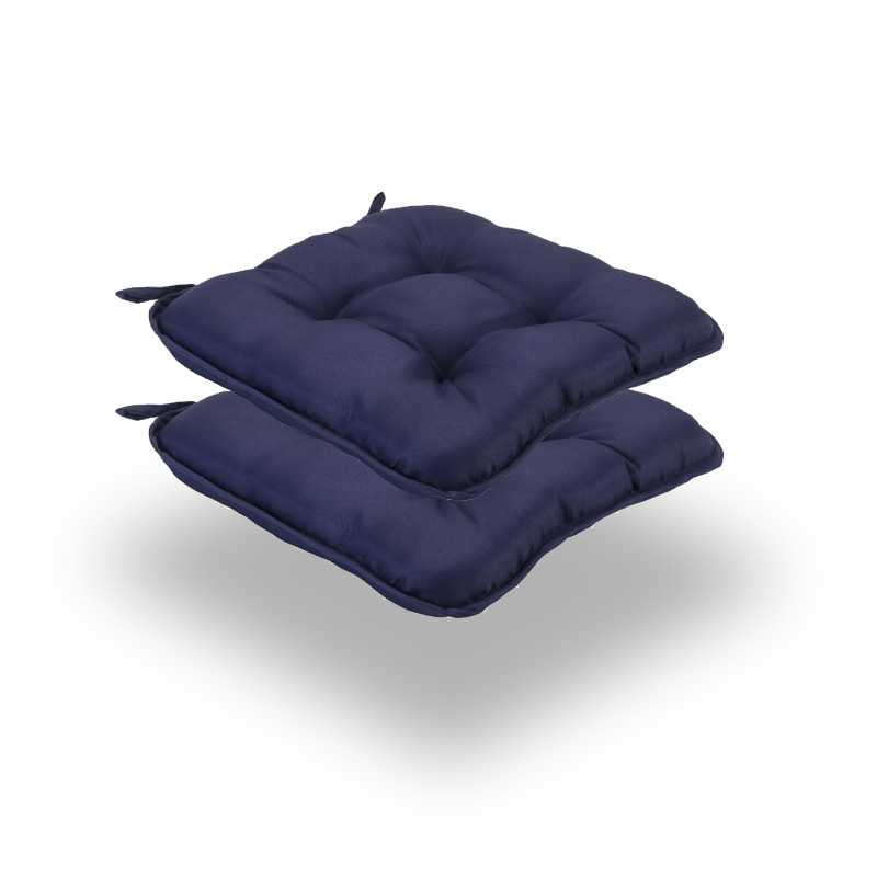 Snug Blue Quilted Seat Pads Normal Pack