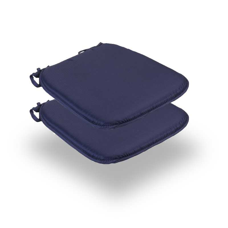 Snug Blue Square Seat Pads Normal Pack