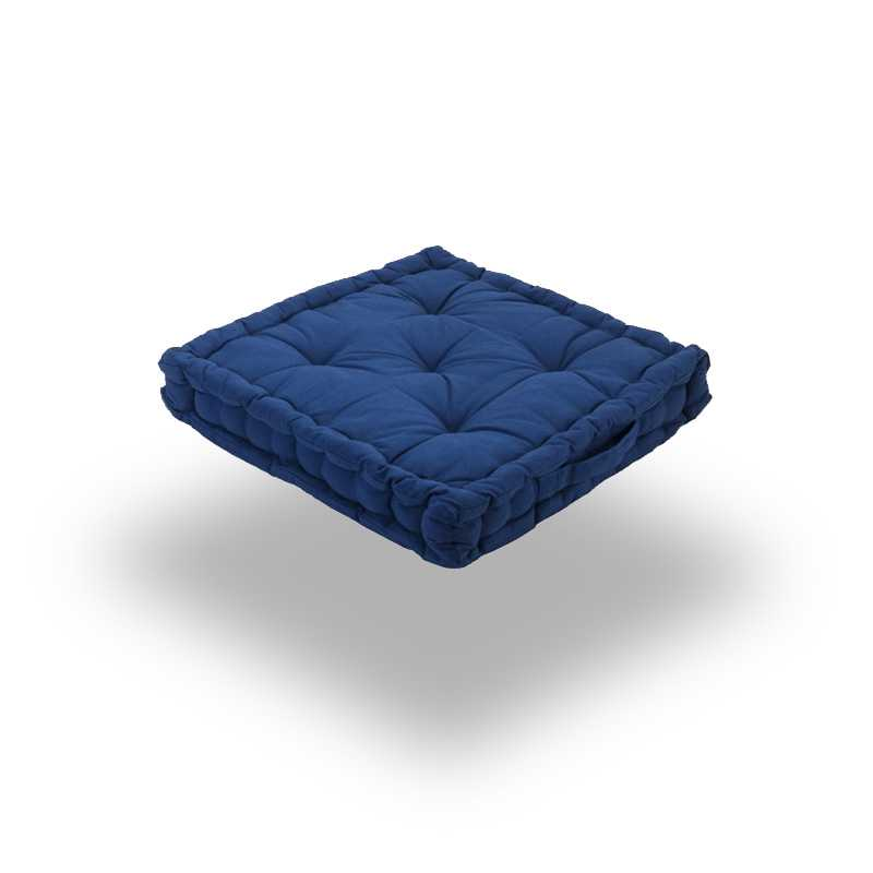 Snug Blue Square Seat Pads