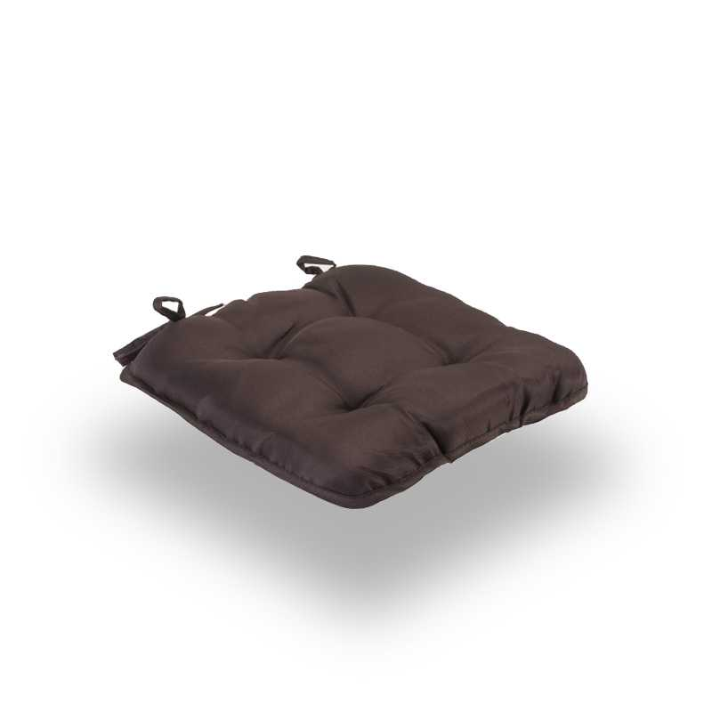 Snug Brown Quilted Seat Pads Normal