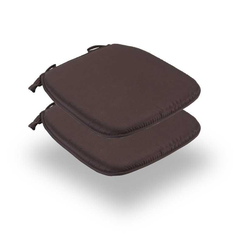 Snug Brown Square Seat Pads Normal Pack