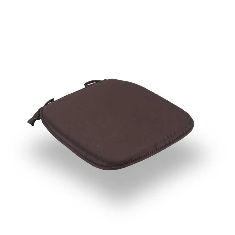 Snug Brown Square Seat Pads Normal
