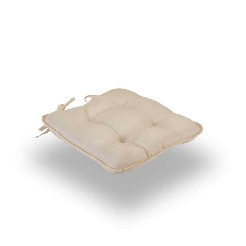 Snug Cream Quilted Seat Pads Normal