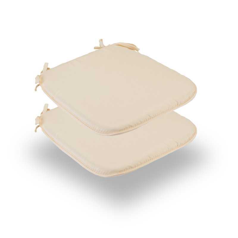 Snug Cream Square Seat Pads Normal Pack