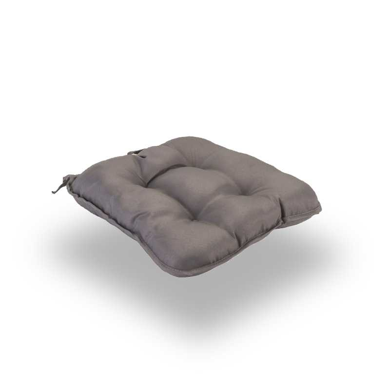 Snug Gray Quilted Seat Pads Normal