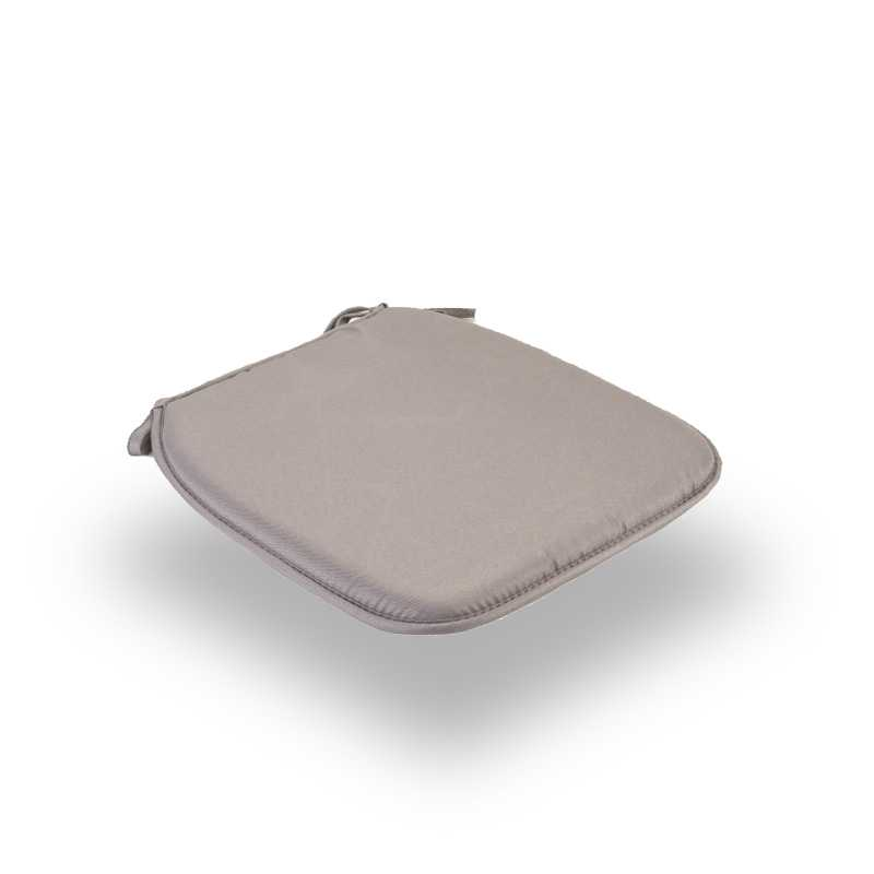 Snug Gray Square Seat Pads Normal