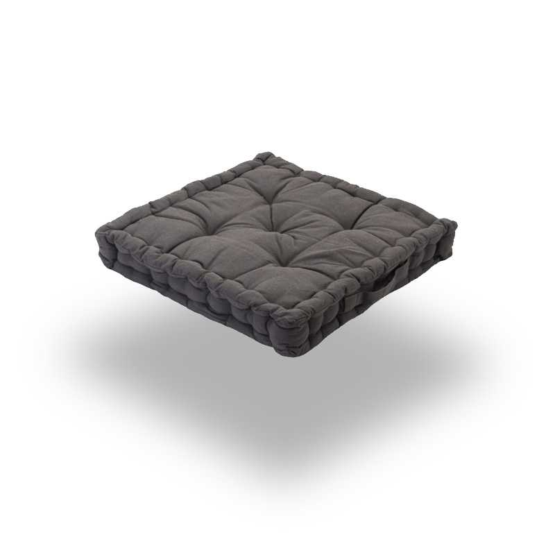 Snug Gray Square Seat Pads