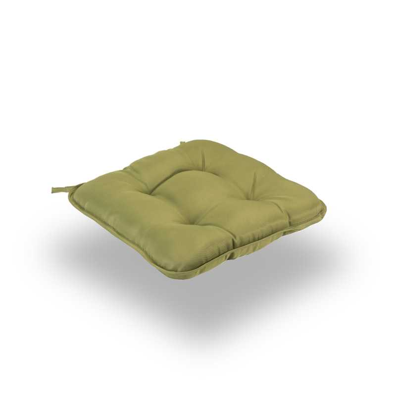 Snug Green Quilted Seat Pads Normal