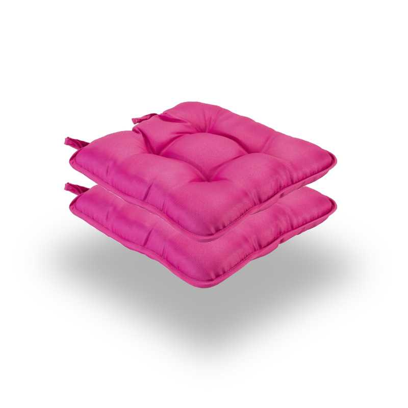 Snug Pink Quilted Seat Pads Normal Pack