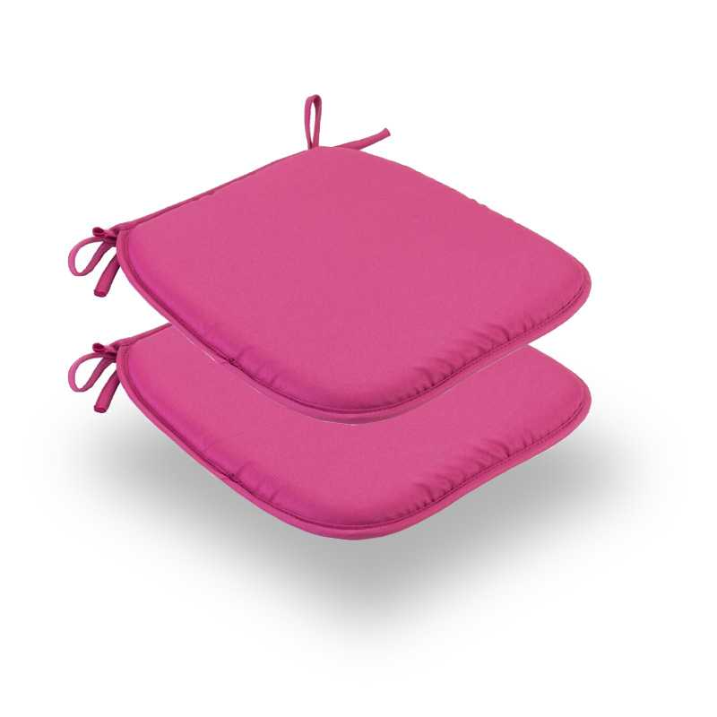 Snug Pink Square Seat Pads Normal Pack