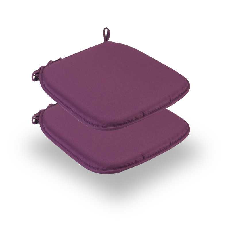 Snug Purple Square Seat Pads Normal Pack