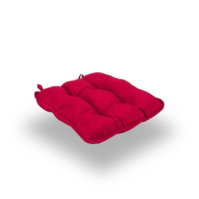Snug Red Quilted Seat Pads Normal