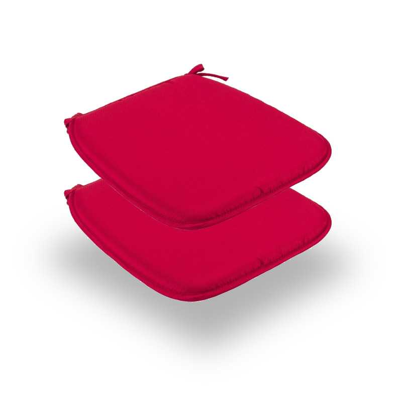 Snug Red Square Seat Pads Normal Pack