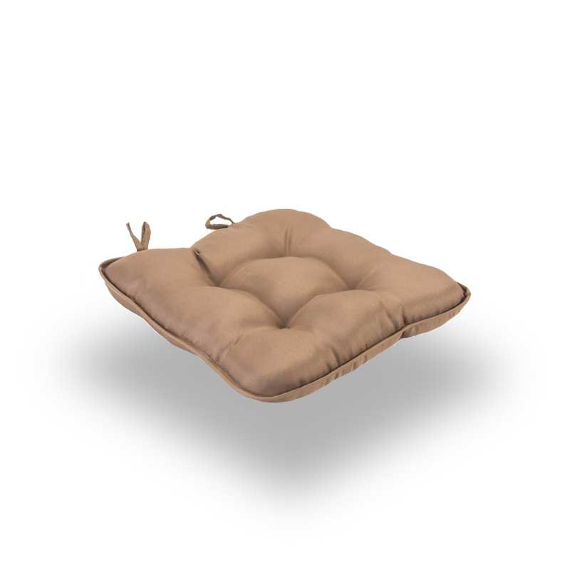 Snug Tan Quilted Seat Pads Normal