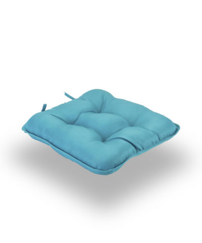 Snug Teal Quilted Seat Pads Normal