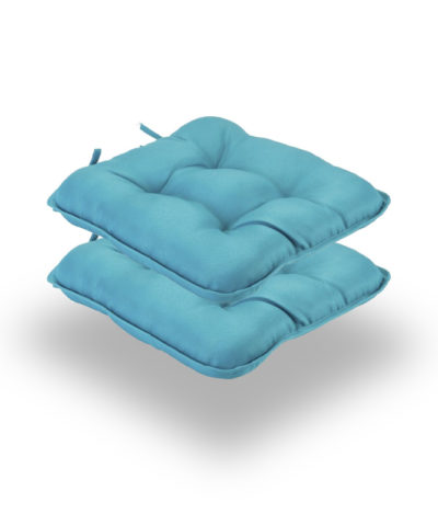 Snug Teal Quilted Seat Pads Normal Pack