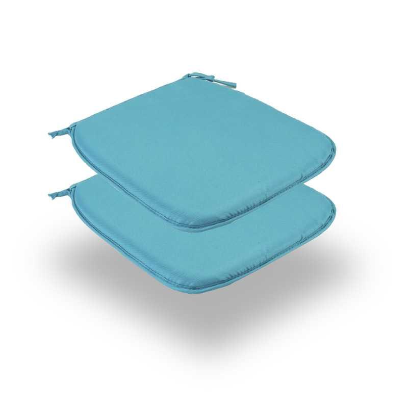Snug Teal Square Seat Pads Normal Pack