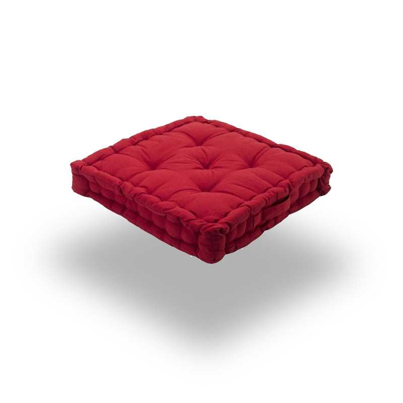 Snug red Square Seat Pads