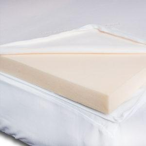 SnugCity-Coolmax-Memory-Foam-Mattress-Topper-Cover